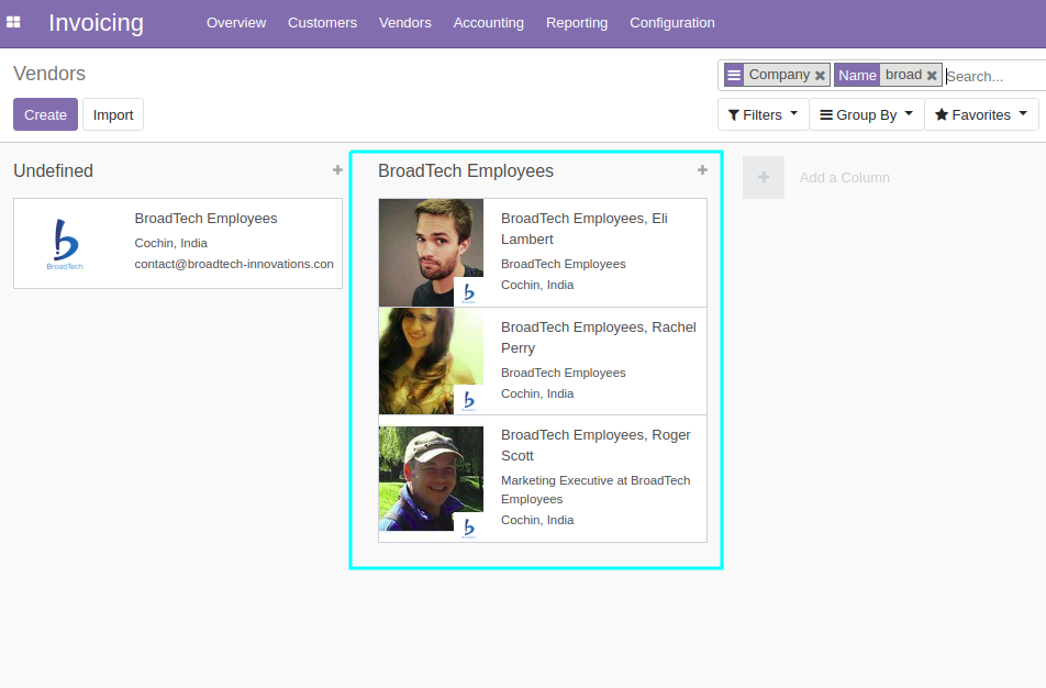 Working With Odoo 12